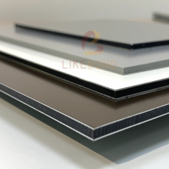 brushed aluminium composite board