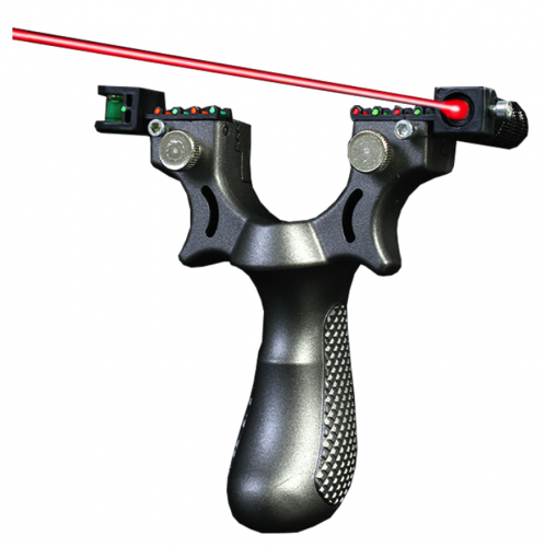 Free shipping Slingshot  with Red Laser Sight 98K