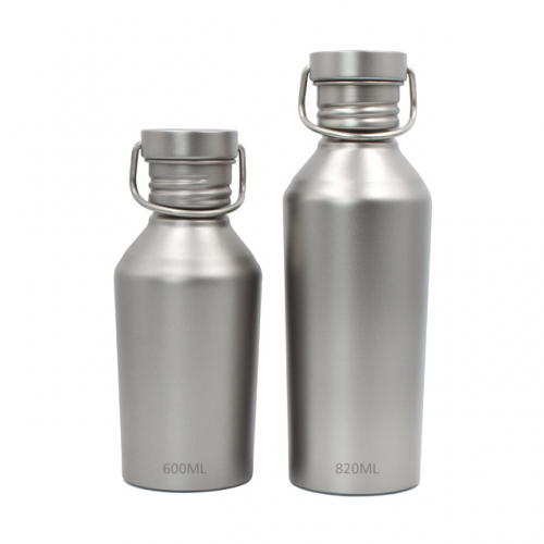 Titanium Sports Bottle Ultralight 600ml/820ml