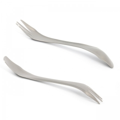 Titanium Spork for Camping, Hiking, Fishing and Any Outdoor Activities