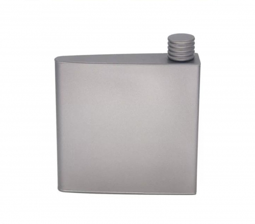 Titanium Hip Flask Camping Wine Pot Outdoor Portable Drink Pocket Flagon Liquor Flask for Backpacking