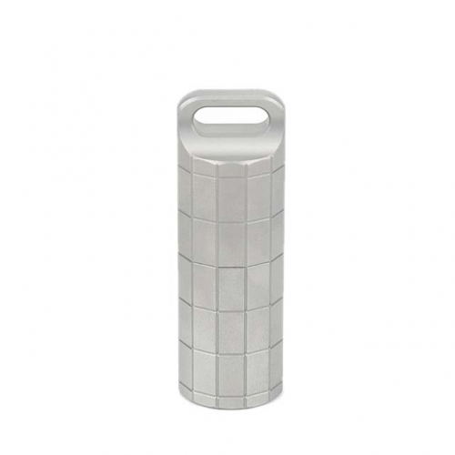 Titanium Waterproof cigarette box pill holder capsule container