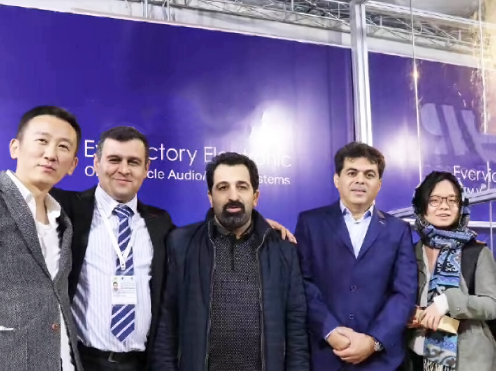 Think Power Exhibited The Tehran International Electronics Show in Iran