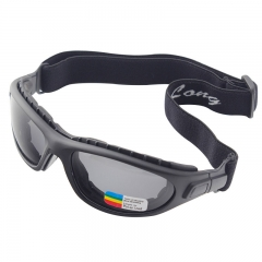 black mirrror polarised sports sunglasses
