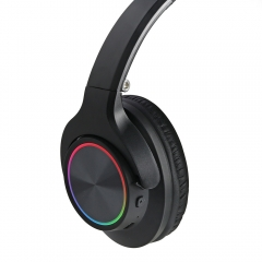RBT62 Bluetooth Headphone With Beautiful RGB Light Effect and Decent Sound Quality