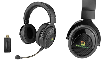 Why is the 2.4G wireless gaming headset popular among game lovers?