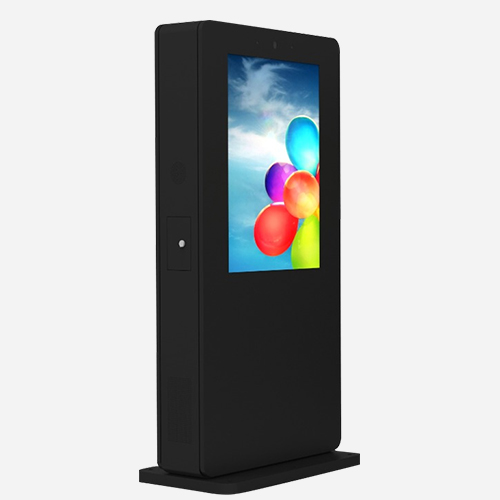 32'' to 86'' Outdoor Floor Standing Kiosk