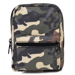 Camouflage reflecting mini bag