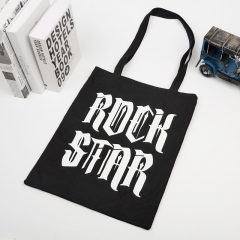 Cotton shopping bags with printing