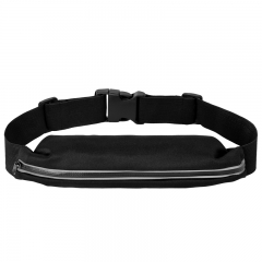 Water proof sport belt bag with reflecting zipper