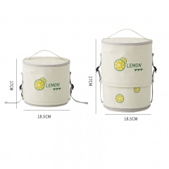 420D pvc flex lunch bag cool bag