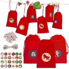 Chrismas calendar bag sets