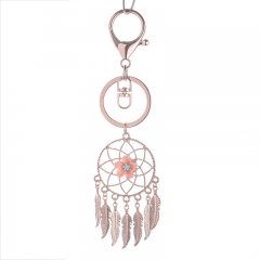 dream catcher keychain, metal keychain