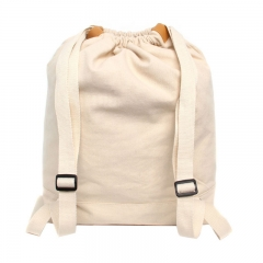 Canvas backpack for student