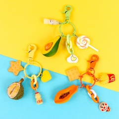 cute keychain, earphone box keychain