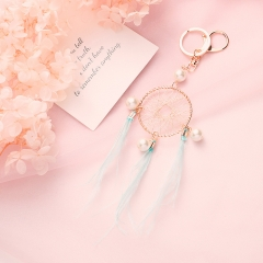 dream catcher keychain, cute keychain
