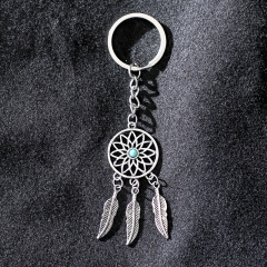 metal dream catcher keychain, cute keychain