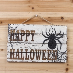 Wooden halloween wall decoration