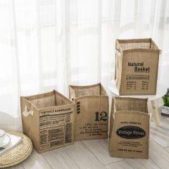 Jute storage box house use
