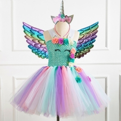 Party tutu dress with wing