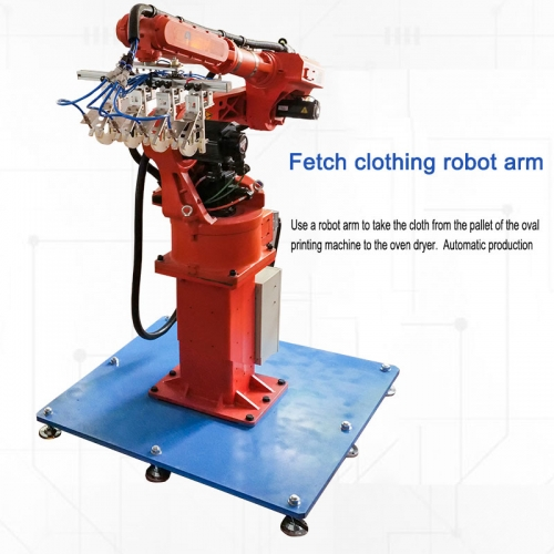 Fetch clothing robot arm