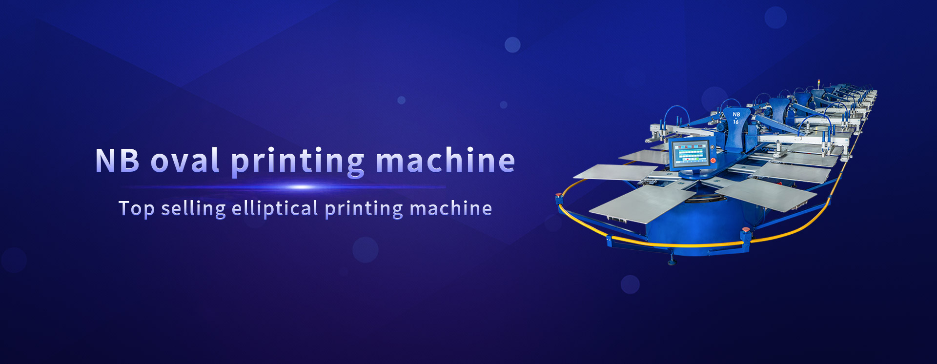 NB oval printing machine