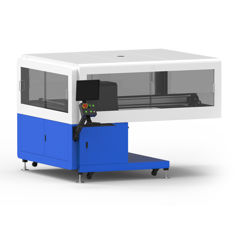 Digital printing section suitable for oval screen printing machine