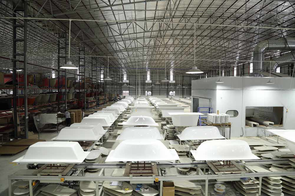 Which sanitary ware manufacturer in Foshan, China is the best and most famous?