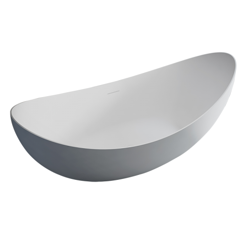 High-End Oval Freestanding Pure Acrylic Bathtub TW-7618
