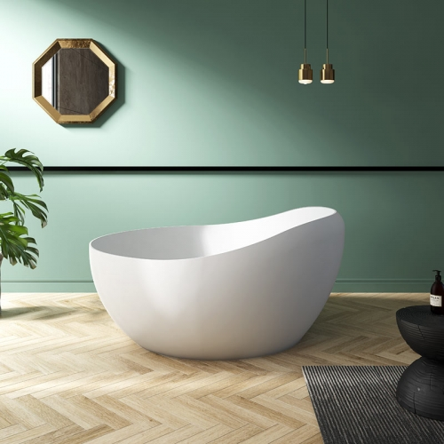 Unique Design Modern Round Freestanding Acrylic Bathtub TW-7665