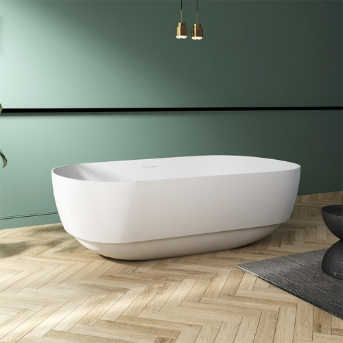 Top Rated Oval Freestanding Acrylic Bathtub TW-7675