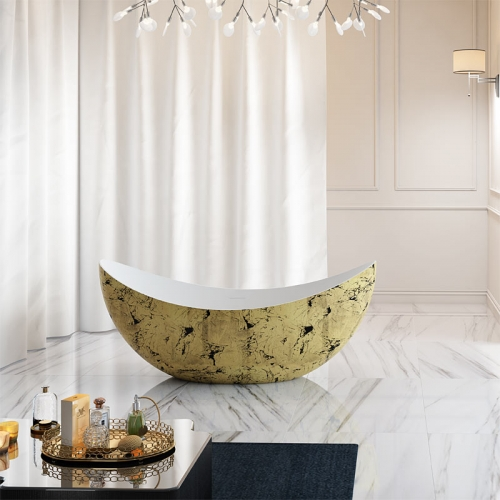 New Design Oval Freestanding Acrylic Bathtub TW-7618G