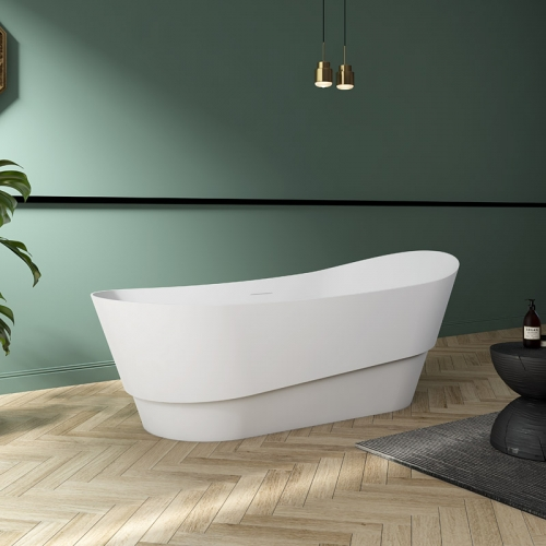 Best Selling Oval Freestanding Acrylic Bathtub TW-7673