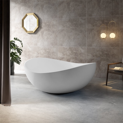 Unique Design Top Rated Round Freestanding Acrylic Bathtub TW-7666