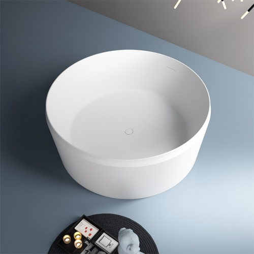China High-End Round Freestanding Acrylic Bathtub TW-7639