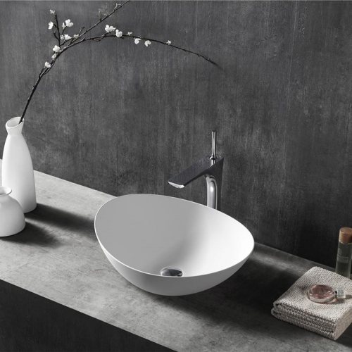 Oval Above counter top wash basin XA-A79