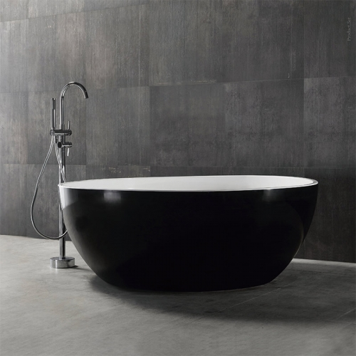 Colorful Round Freestanding Acrylic Bathtub XA-139
