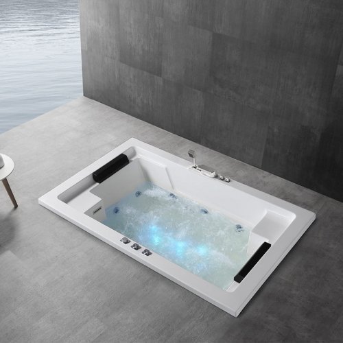 Drop-in Whirlpool Massage Function Embedded Acrylic Bathtubs XA-333
