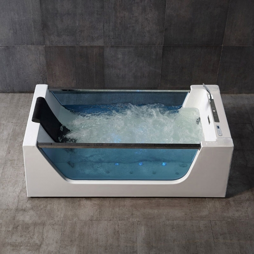 Freestanding Whirlpool Massage Function Acrylic Bathtubs XA-038