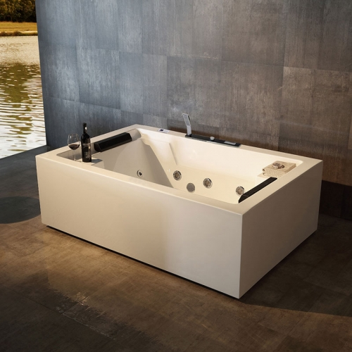 Freestanding Whirlpool Massage Function Acrylic Bathtubs XA-023