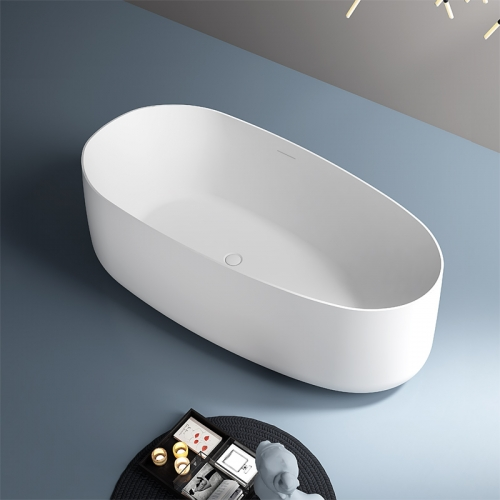 Oval Freestanding Solid Surface Bathtub TW-8698