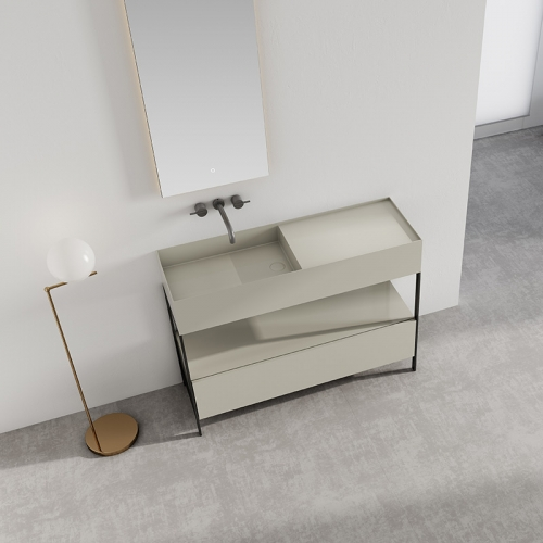 Console Sink Floor Freestanding Bathroom Cabinet WBL-9602