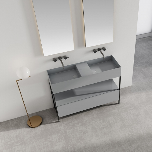 Console Sink Floor Freestanding Bathroom Cabinet WBL-9603