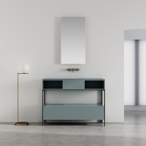 Console Sink Floor Freestanding Bathroom Cabinet WBL-9605