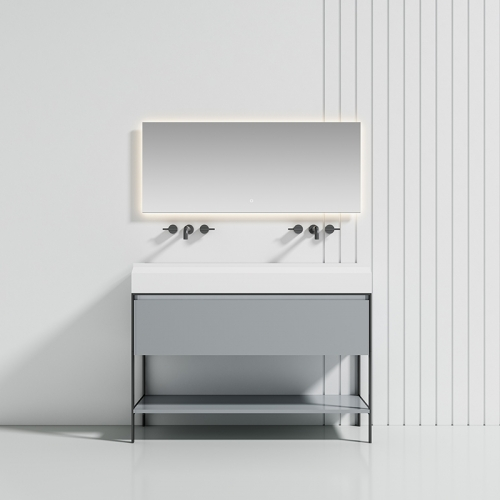 Floor Freestanding Bathroom Cabinet WBL-9302