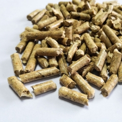 Pine Wood Pellet Cat Litter Non-Clumping Strip Sha...