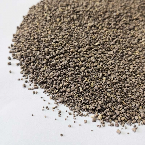 Natural Crushed Bentonite Cat Litter Super Clumping Purple Color 0.5-2mm