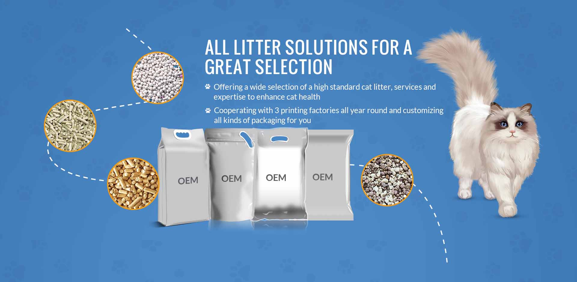 ALL LITTER SOLUTIONS FOR A GREAT SELECTION