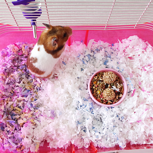 Pet Bedding for Small Animals Hamster Bedding Paper Litter Paper Bedding