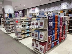 Chain Store Multi-Product Displays Gondola Shelving